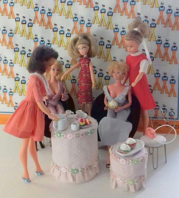 Les amies de Barbie