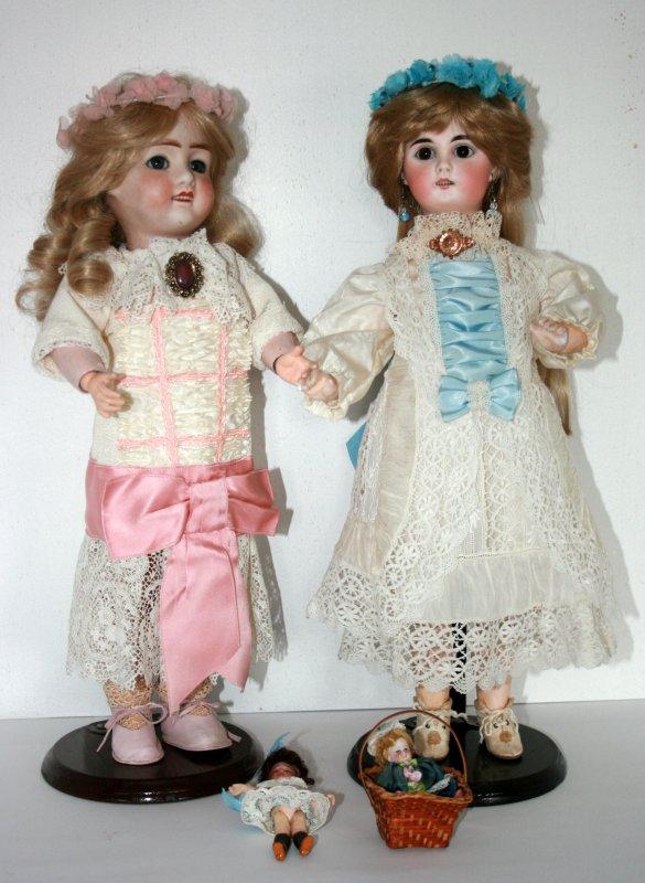 Poupée JULES VERLINGUE et une poupée  Allemande inconnue !