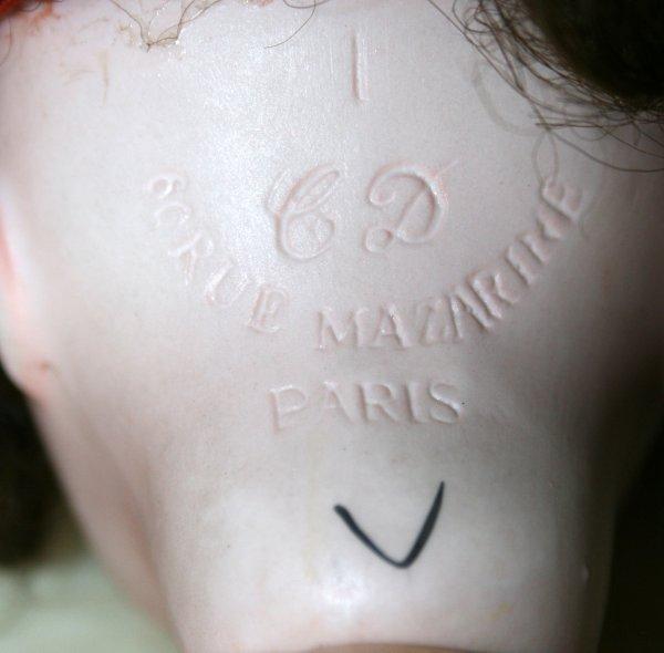 Poupée de Charles Delattre  ,Rue Mazarine Paris