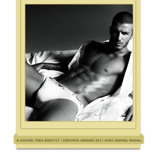 David Beckham - Emporio Armani Underwear 2007-2008.
