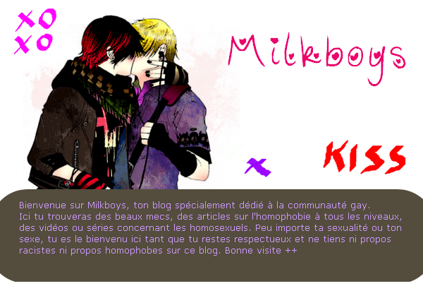 Welcome on Milkboys ♥.