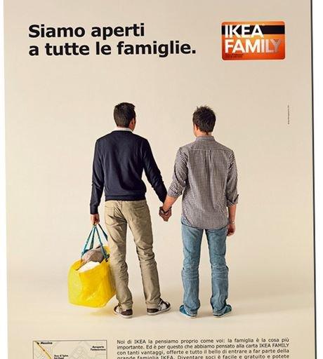 Une pub Ikea fait scandale en Italie.