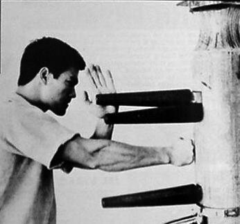 L'entraînement de Bruce Lee