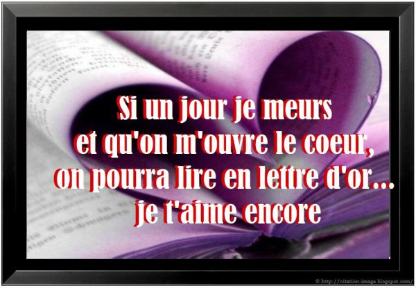 Citation amour valentin