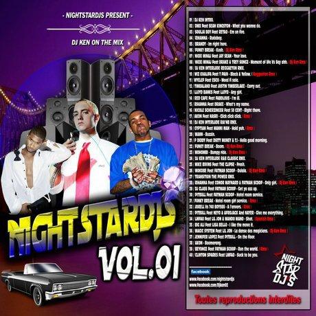 NIGHTSTARDJS VOLUME 1 DJ KEN ON THE MIX
