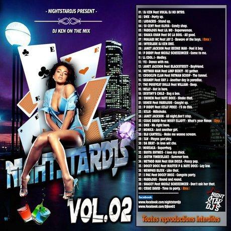 NIGHTSTARDJS VOLUME 2 DJ KEN ON THE MIX