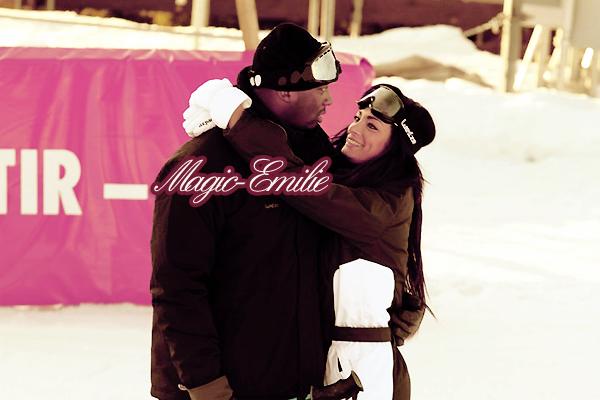 | Singuila et Emy, un an qu'ils sont ensemble. Ne sont-ils pas merveilleux ? ♥ |