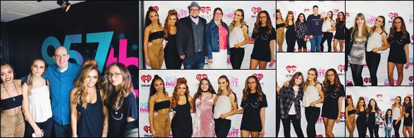 03 avril 2017 🌷 Perrie Edwards ainsi que les filles ont été photographié à « 95.7 The Party »  pour un nouveau meet and greet.
