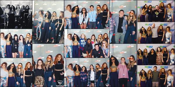 09 avril 2017 🌷 Les filles ont été ensemble dans les radios : « 106.1 Kiss FM : top golf Dallas »  et chez «The New Hot 93.3 Hits» .