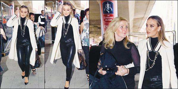 23 avril 2017 🌷 Notre Perrie Edwards a été photographié arrivant alors qu'elle arrivait au stade Wembley avec sa mère à Londres.