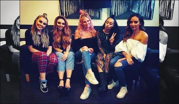 06 juin 2017 🌷 Les Little Mix ont réalisé une interview inconnue - la seule photographie en dessous - lorsqu'elles étaient en Suède.