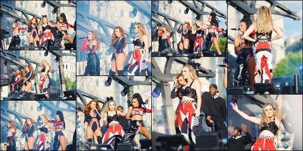 12 juillet 2017 🌷 Les Little Mix ont effecuté une magnifique performance lors du  « Formula One Festival » organisé à Londres.