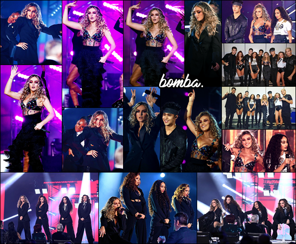 03 décembre 2017 🌷  Les filles ont performé dans de jolies tenues, à la finale de l'émission : « x Factor UK » où elles avaient gagné.