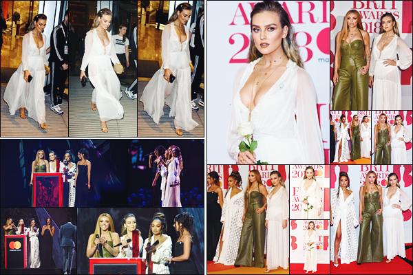 21 février 2018 🌷  Les Little Mix étaient présentes lors de la cérémonie des « BRIT Awards » qui était organisé à Londres - UK.