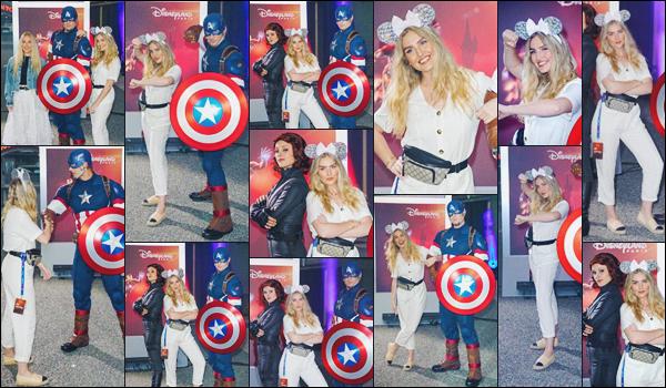 09 juin 2018 🌷 Perrie Edwards était présente à l'ouverture de l'attraction « Marvel Summer of Super Heroes » à Disneyland • FR.