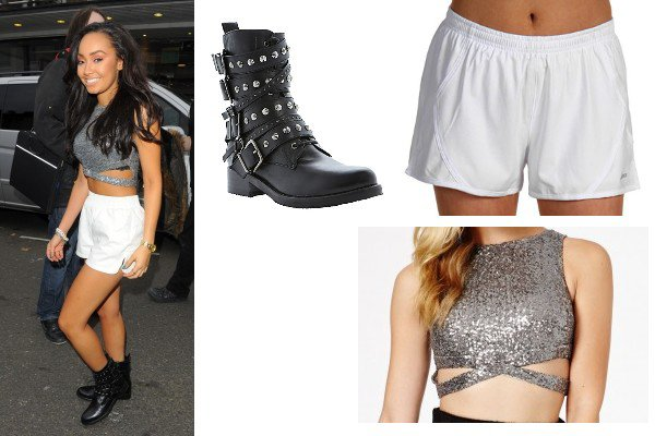 Style 4: Ally Brooke, Leigh-Anne Pinnock, Perrie Edwards, Miley Cyrus et Ariana Grande