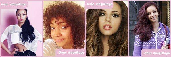 Article spécial 2: Les stars avec/sans maquillage