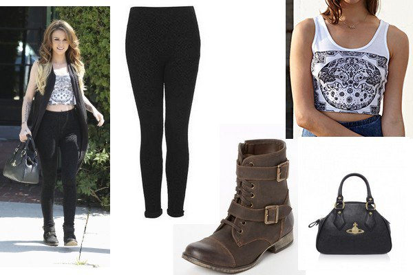 Style 10: Miley Cyrus, Lauren Jauregui, Becky G, Perrie Edwards, Cher Lloyd,  Justine Skye et  Camila Cabello