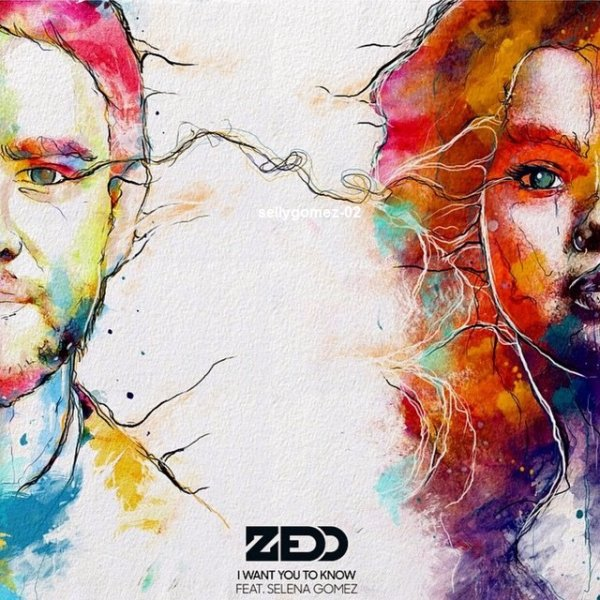 Voici la couverture du single de  Selena et zedd