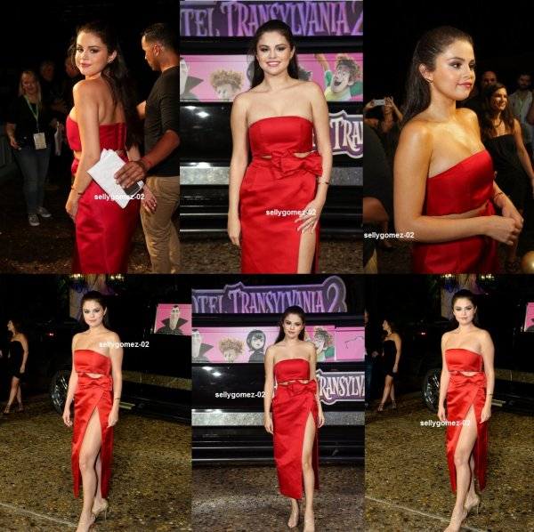 le 14 juin 2015 - selena attending the 'Hotel Transylvania 2' photo call during Summer Of Sony Pictures Entertainment 2015 - Day 3 at The Ritz-Carlton Cancun in Cancun, Mexico
