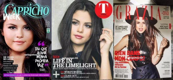 selena fait la courverture Billboard Magazine 2015