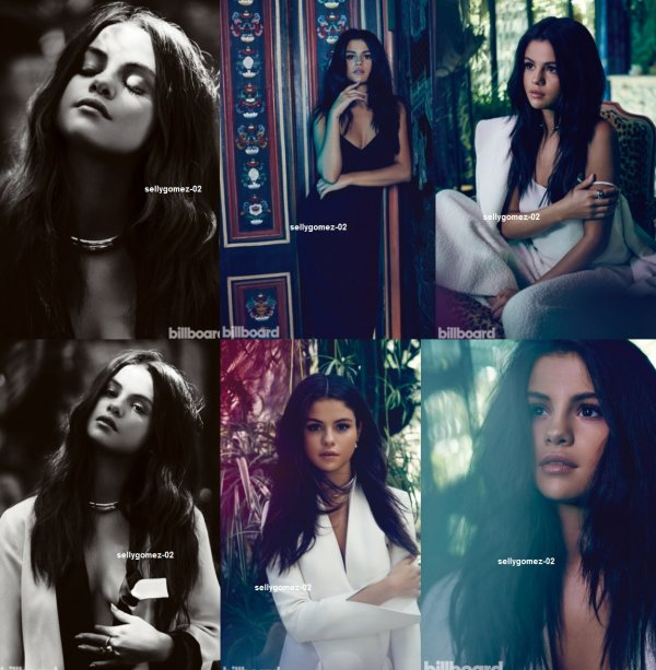 voici des nouvelle photo du shoot de selena pour Billboard Magazine