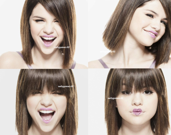 voici un photoshoot de selena pour l ablum Kiss & Tell (2009)