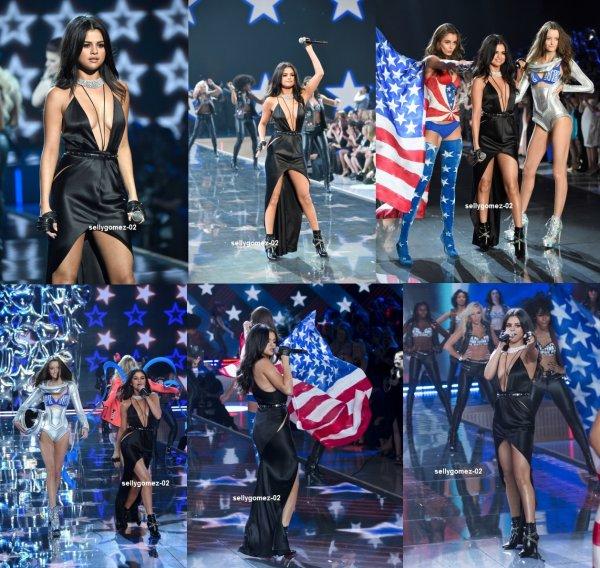 le 10 novembre 2015 - selena à Participer de 2015 secret Fashion Show de Victoria après la fête à New York, NY