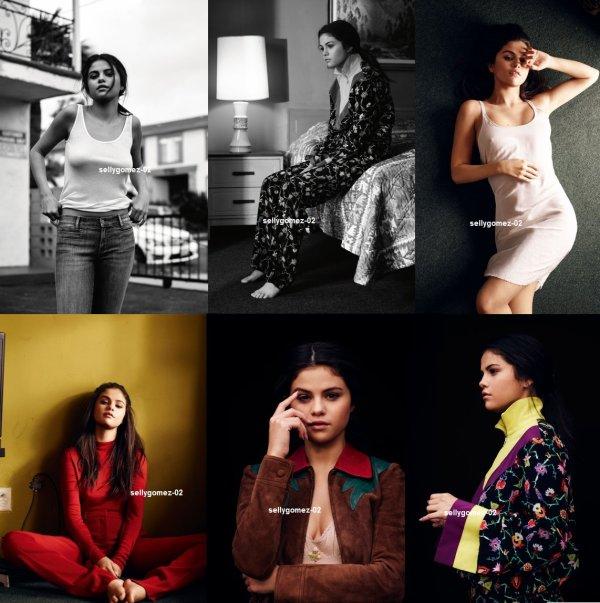 voici un nouveau photoshoot de selena pour InStyle Magazine (UK) pour le mois janvier 2016
