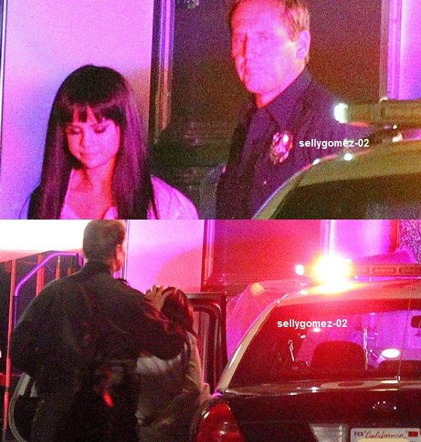 le 29 novembre 2015 - Selena vu sur le tournage de son nouveau clip à West Hollywood, en Californie