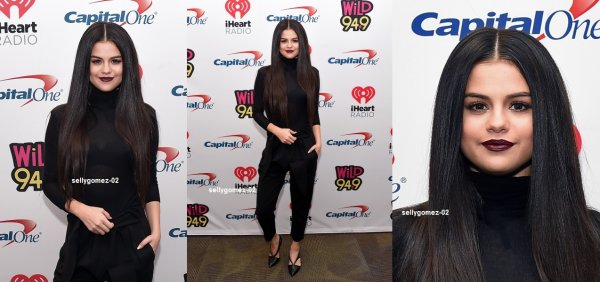 le 4 decembre 2015 - selena aux KIIS FM's Jingle Ball in Los Angeles, CA