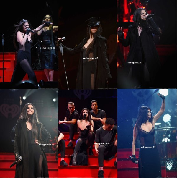 le 9 decembre 2015 - selena au q102 philly's 2015 jingle ball à philadelphie, en pennsylvanie