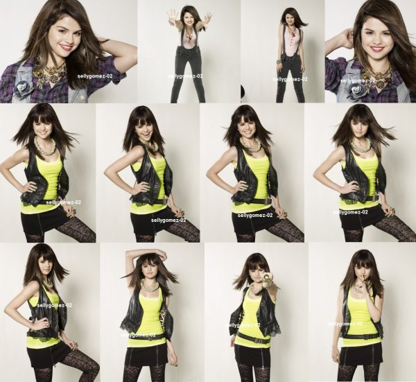 voici un photoshoot de selena pour Seventen Magazine datand 2009