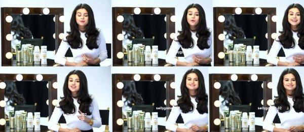 Selena Gomez x Pantene x Target : Spot Selena 'Larger Than Life' At Target