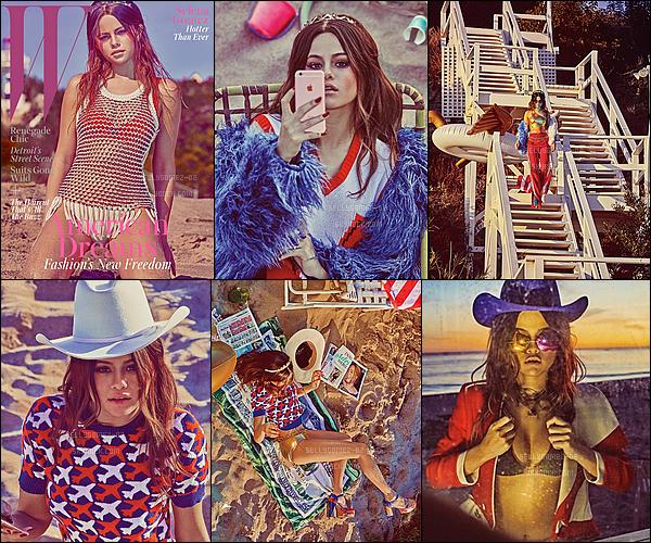 Découvrez le tout nouveau photoshoot excentrique et très coloré de la miss Gomez pour le « W Magazine ».
