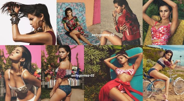 voici un photoshoot de selena pour vogue magazine 2017