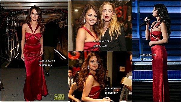 le 15 févier 2016 - Selena était présente aux Grammy Awards