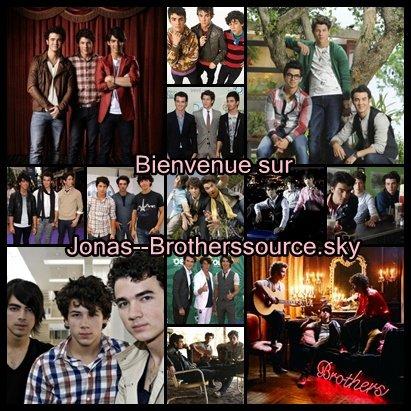 Bienvenue sur Jonas--BrothersSource, ta nouvelle source sur Les Jonas Brothers.