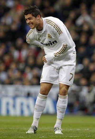Le pauvre Ronaldo .