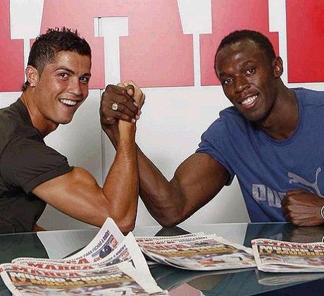 Usain Bolt pour lui Ronaldo est meilleur que Messi