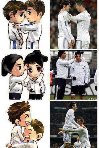 Kaka et Ronaldo comme des frère .