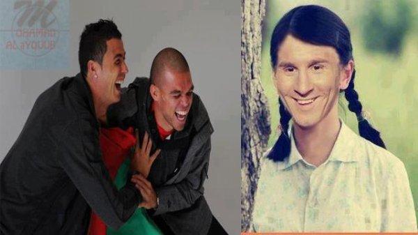 Messi et Ronaldo