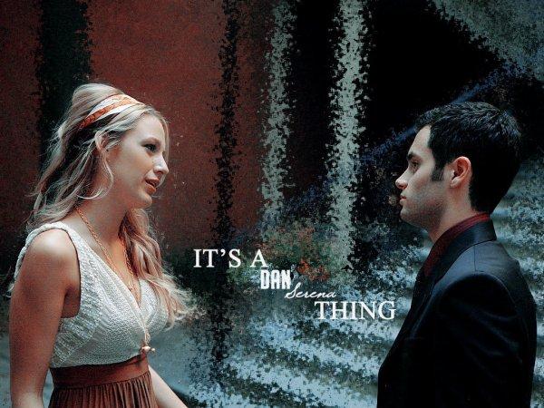 « Tu sortirais avec un mec que tu connais pas ? -Tu peux pas être pire que ceux que je connais. » - Serena & Dan