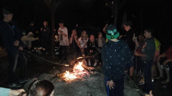 Jeudi, c'est feu de camp au village vacances Bad Bederkesa!!!