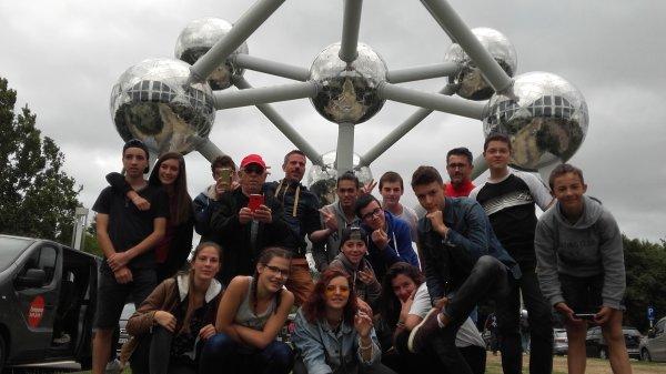 Dimanche, trajet Bruxelles/Sulniac