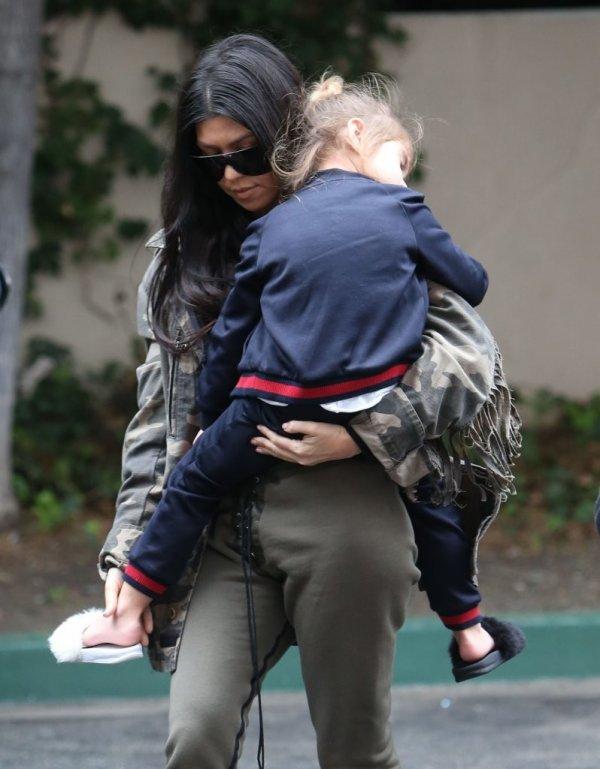 'Pregnant'Cheryl Turns To Kourtney Kardashian For Celebrity Motherhood Advice