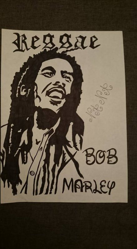 bob marley tribal