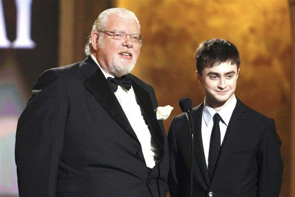 Adieu à Richard Griffiths, alias Vernon Dursley, l'oncle d'Harry Potter