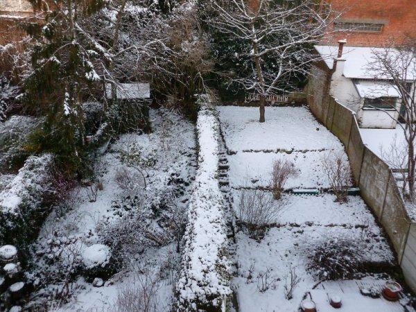 La Neige tient à Bruxelles !!