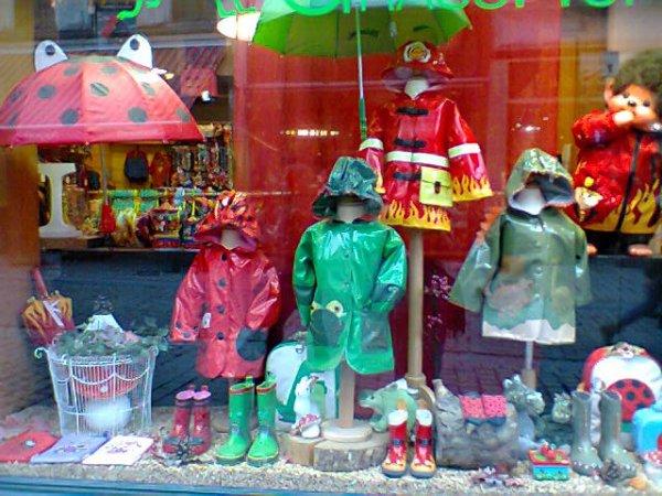 Vitrine Rue du Marché aux Herbes - 1000 Bruxelles